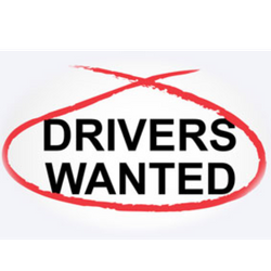 2 NEW DRIVERS WANTED