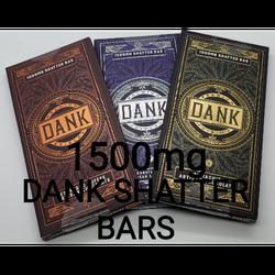 DANK Shatter Bars 1500 mg