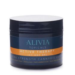 [ALIVIA] Soothing Lotion – Active Therapy - 400mg THC + 200mg CBD (2oz)