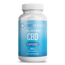 Full Spectrum CBD Hemp Gel Capsules 600mg (30 caps)