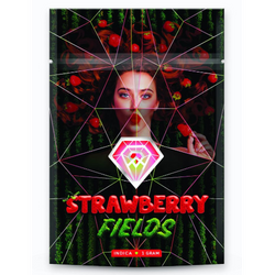 """[Diamond Concentrates] """"Strawberry Fields"""" - Shatter (1g)"""