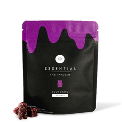 [Essential] Sour Grape - THC Infused Gummies (300mg)