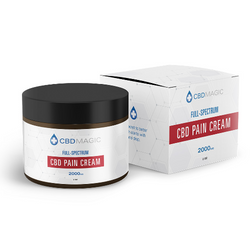 Full Spectrum CBD Pain Cream 2000mg (2 oz)