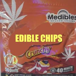 400MG THC- EDIBLE CHIPS