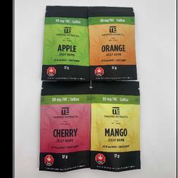 80mg Sativa Jelly Bomb Fruit Gummy 🍉