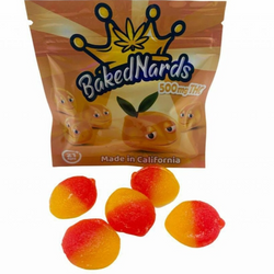 1 Box (30 units) BakedNards Peach – 500mg THC