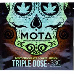 MOTA TRIPLE DOSE CHOCOLATE MINT INDICA COOKIE 330MG THC