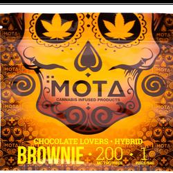 MOTA CHOCOLATE BROWNIE 200MG THC