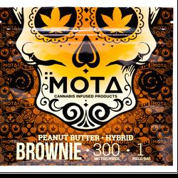 MOTA PEANUT BUTTER BROWNIE 300MG THC