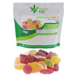 Assorted Gummy Mix (480mg THC/40mg CBD)