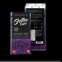 Milk Chocolate Indica - 500mg Shatter Bar