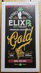 Nature's harvest Elixr 500mg Red Velvet premiums chocolate bar