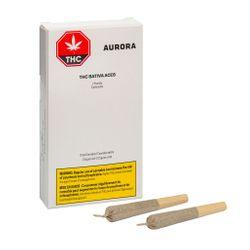 Aurora - THC Sativa Aces Pre Roll - 5x0.5g Sativa