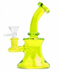 Day Glow 5 Bubbler - Neon Green