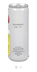 Quatreau - Lime and Ginger Sparkling Water - Blend