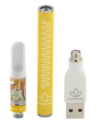Sundial - Lemon Riot 510 Starter Kit - 0.5g Sativa