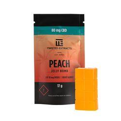 Peach CBD Jelly Bomb