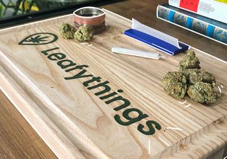 How to Claim your Free Custom Made Rolling Tray