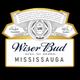 WiserBud 1 Hr Free Delivery! logo