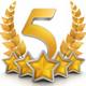 5 Star - PRESCOTT logo