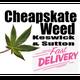 Cheapskate Weed logo