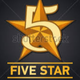 FIVE STAR DELIVERY logo