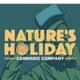 Natures Holiday Cannabis logo