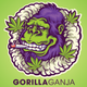 Gorilla Ganja logo