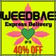 WEEDBAE EXPRESS - 1HR FREE DELIVERY logo