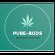 PURE BUDS - CALEDONIA logo