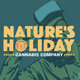 Natures Holiday Cannabis logo
