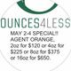 OUNCES4LE$$**$70-$110oz** logo