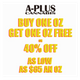 A-Plus Cannabis logo