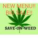 SAVE-ON-WEED logo