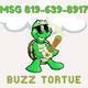 🐢BUZZ TORTUE Bilingual logo