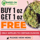 WEED ON CALL (BARRIE DELIVERY) $110 AAA+ OUNCE DEALS! logo