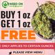WEED ON CALL (BRADFORD) $110 AAA+ OUNCE DEALS! logo