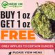 WEED ON CALL (NEW TECUMSETH) $110 AAA+ OUNCE DEALS! logo