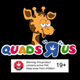 "QUADS ""R"" US logo"