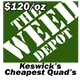 The Weed Depot logo