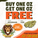 WEEDMASTER - BUY 1OZ HEADBAND KUSH FOR $180 GET A SECOND ONE FREE logo