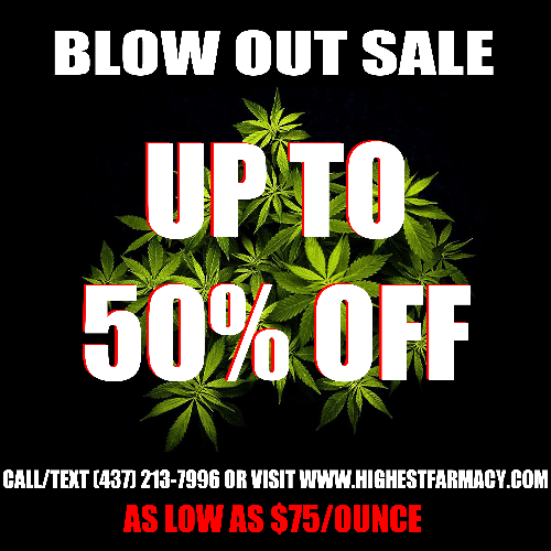 UPTO 50% OFF ON SELECTED STRAIN! GET AN OZ FOR $75!!!